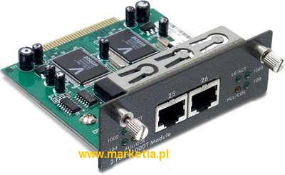 2-port 10/100/1000Mbps Copper Gigabit Module for TEG-S3000i