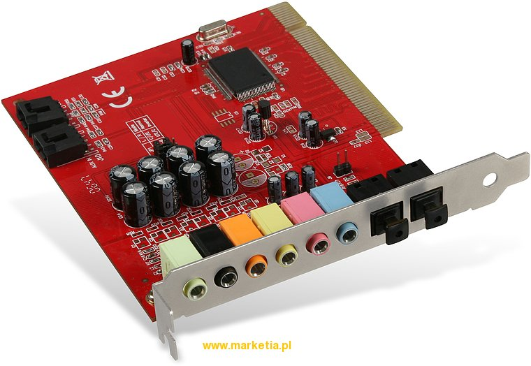 SL-8871-SRD Karta dźwiękowa SPEED-LINK 7.1 PCI Audio Card