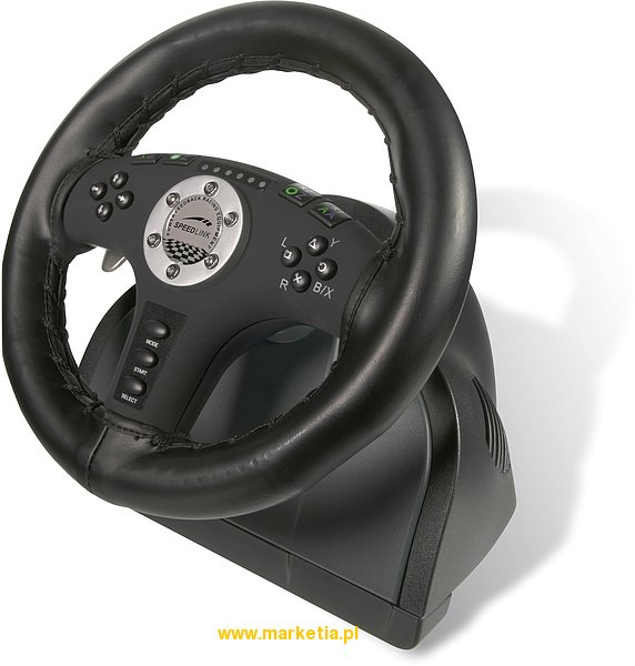 SL-6693-SBK Kierownica SPEED-LINK 2in1 Force Vibration Racing Wheel