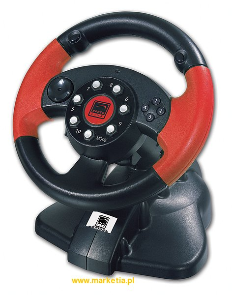 SL-6681 Kierownica SPEED-LINK PC Red Lightning Racing Wheel