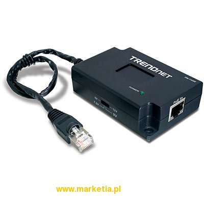 Splitter Gigabit Power over Ethernet (PoE)