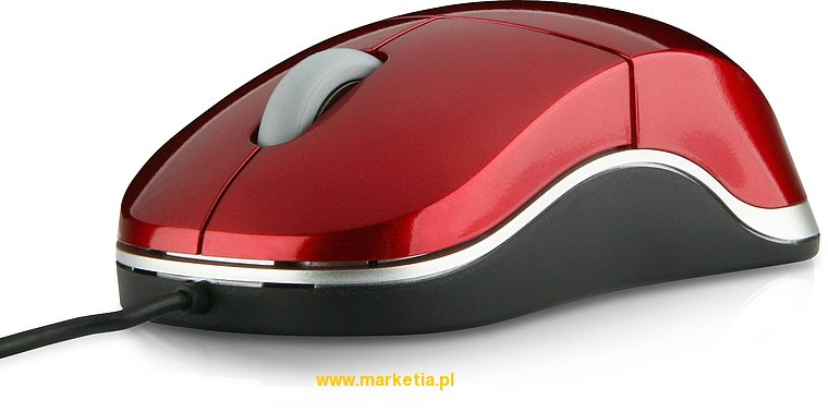 SL-6142-SRD Mysz SPEED-LINK Snappy Smart Mobile USB Mouse, czerwona