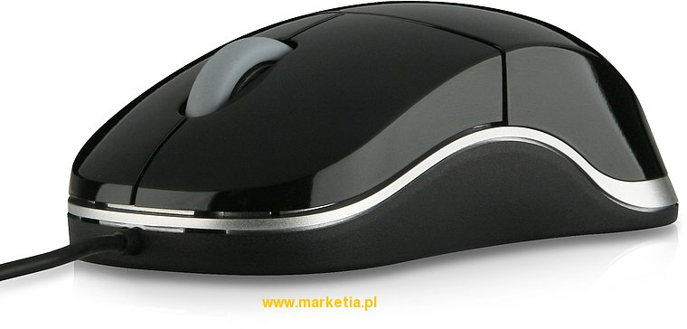 SL-6142-SBK Mysz SPEED-LINK Snappy Smart Mobile USB Mouse, czarna