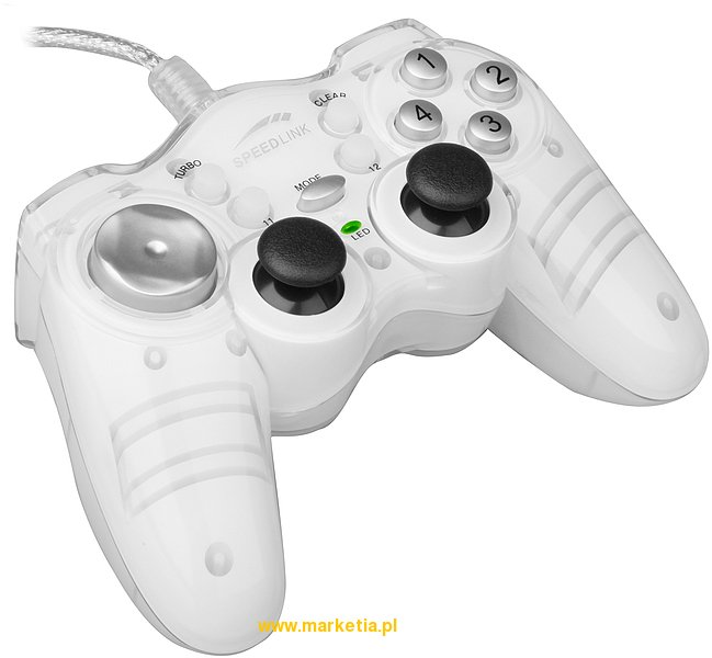 SL-6543 Pad SPEED-LINK ThunderStrike Gamepad, biały